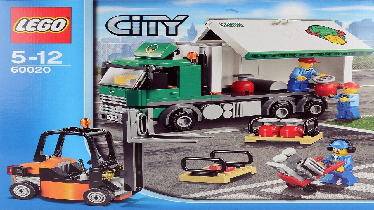 Lego City Instructions For 60020 Cargo Truck Youtube