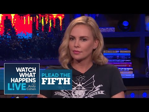 Is Charlize Theron Dating Gabriel Aubry?  Plead The Fifth  WWHL