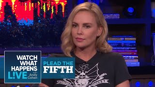 Is Charlize Theron Dating Gabriel Aubry? | Plead The Fifth | WWHL