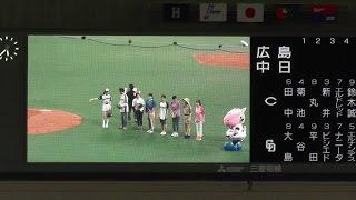 名古屋にある各放送局の代表が6/3の始球式をかけてスピードボールコンテ...
