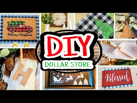 Dollar Store Christmas DIYs | DIY Christmas 2019