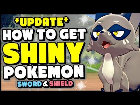 NEW INFO - How to Get SHINY POKEMON In Sword and Shield