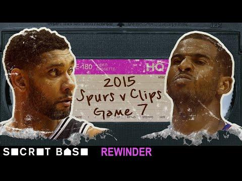 [Secret Base] Rewinder: Chris Paul's last second shot vs the Spurs, 2015 Round 1 Game 7