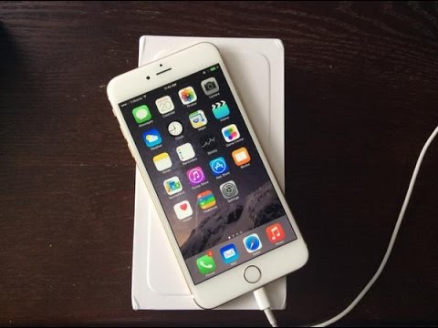 official gold 128gb t mobile iphone 6 plus unboxing. Black Bedroom Furniture Sets. Home Design Ideas