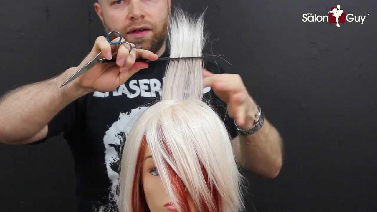 female emo/scene haircut