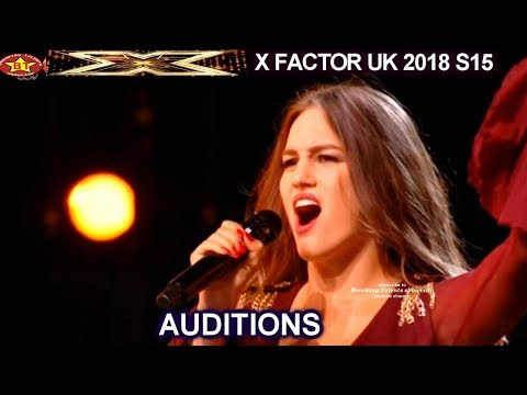 Athena Manoukian from Greece POP Star Material- Louis Tomlinson Says NO | AUDITIONS X Factor UK 2018