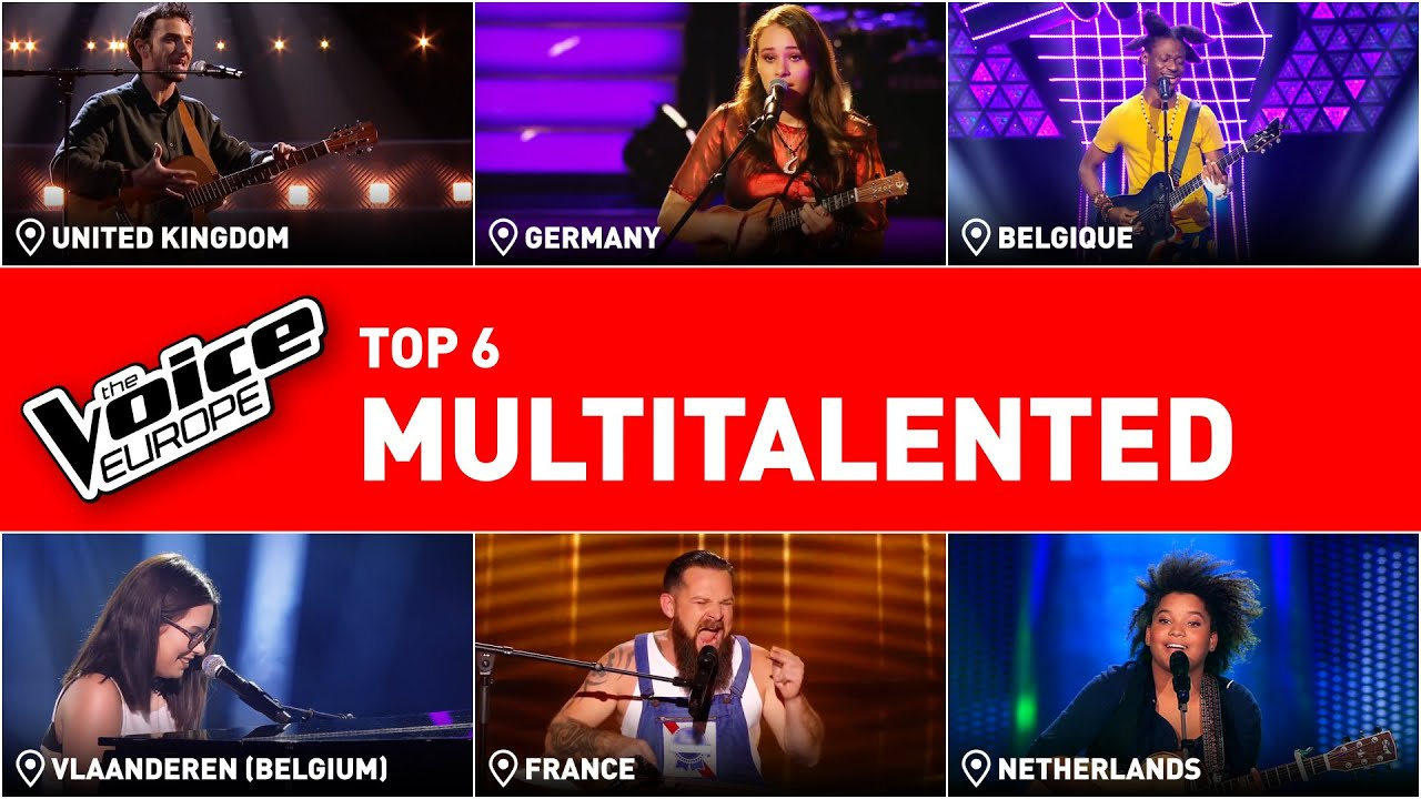 MULTITALENTED performances that make the coaches GO CRAZY! | TOP 6