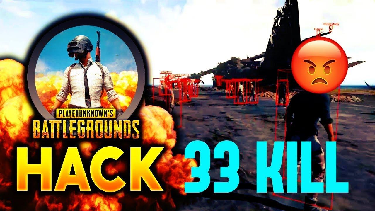 PUBG WALL HACK 33 KİLL !!! Battleground Hack ( türkçe )