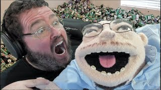 Boogie Vs Francis Puppet