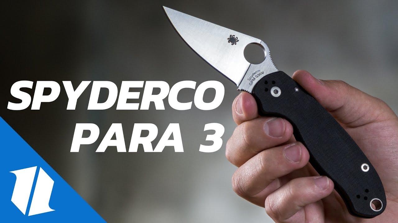 Spyderco L/ámina Satin SC223GS Para 3