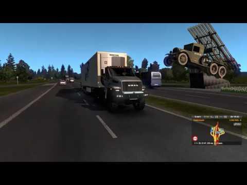 Западная Украина в Euro Truck Simulator 2: Киев, Житомир, Ровно, Луцк, Львов