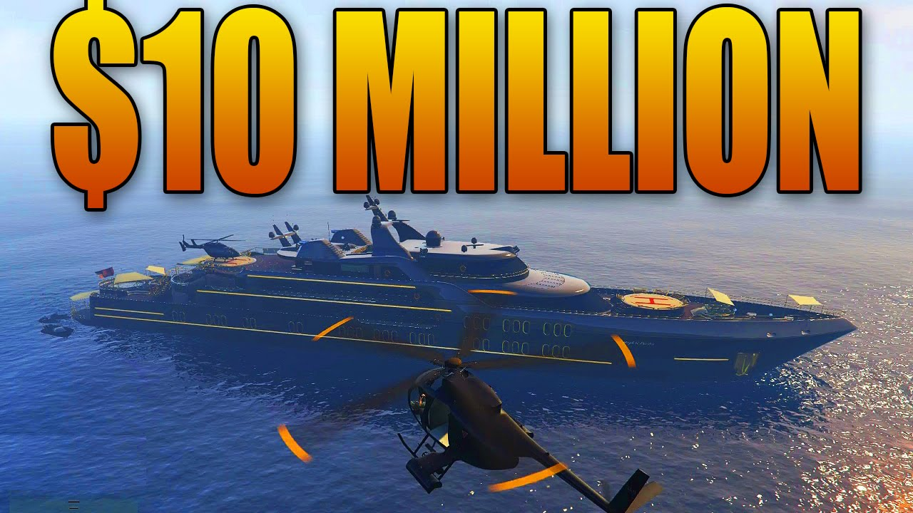 Buying And Customizing A 10 Million Super Yacht Gta