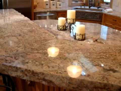 Granite Countertop Fabrication : Granite Countertop Fabrication and Installation - YouTube