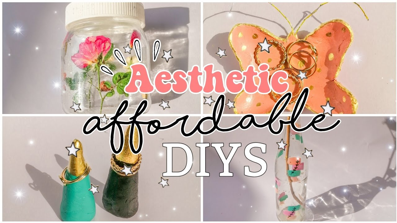 Affordable aesthetic Diys | Affordable diy decor ...