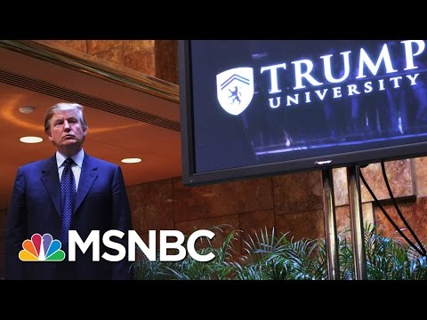 New York Attorney General On Trump University: This Is A 'Fraud Case' | Morning Joe | MSNBC