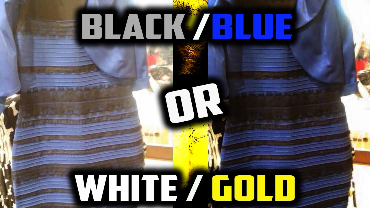 The dress debate - Black And Blue Dress Or White And Gold Dress Biggest Debate Of 2015 Optical Illusion Dress Youtube
