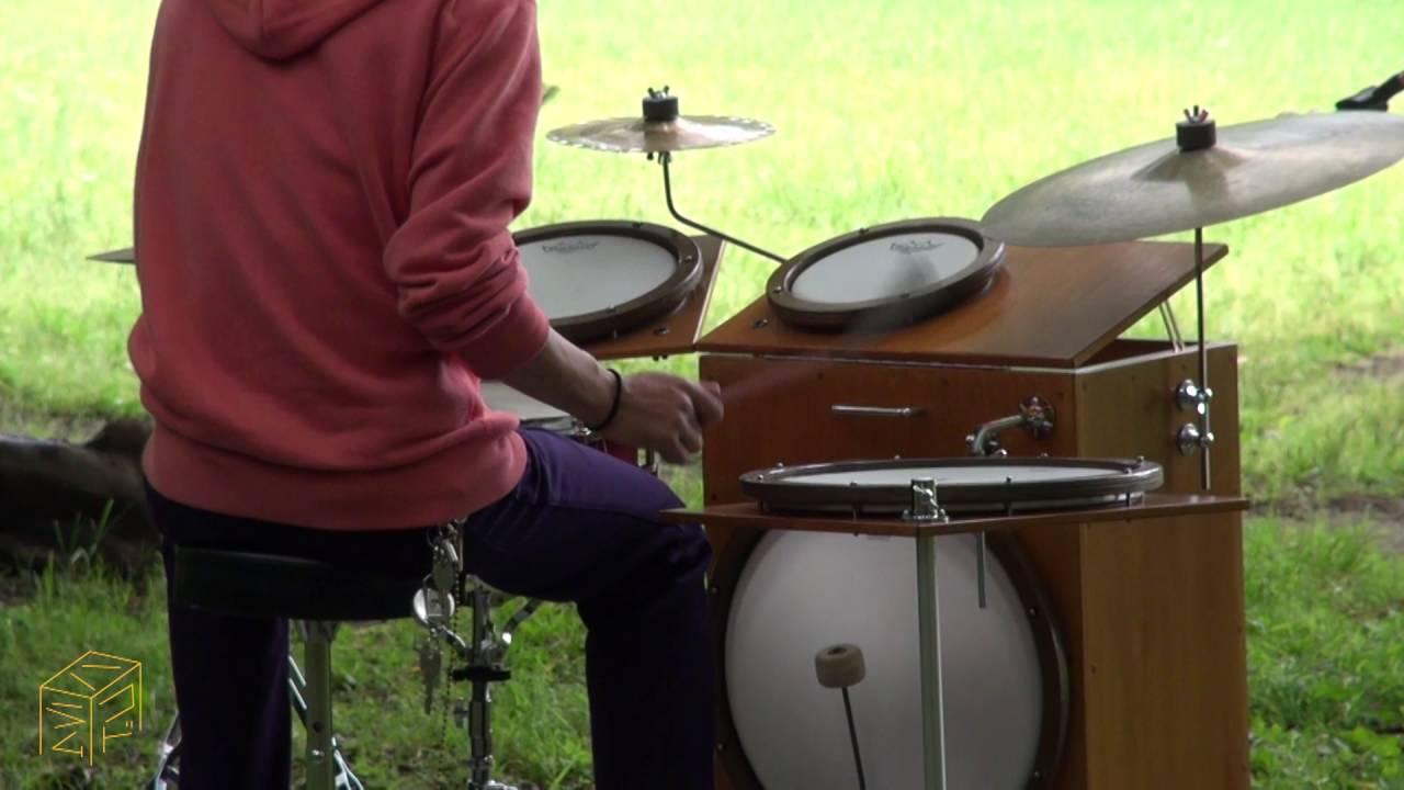 ドラムを持ち運ぶ