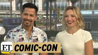 Jay Hernandez and Perdita Weeks Talk Magnum P.I. | Comic-Con 2018