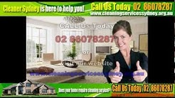 Residential Cleaning Service Chiswick 2046 (02) 86078287 | Emergency Cleaning in Sydney
