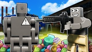 Lego Police Must Take Down Illegal Candy Ring! - Brick Rigs Multiplayer Roleplay