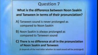 Al-Tarteel #22 Learn the correct pronunciation of the Holy Qur'an