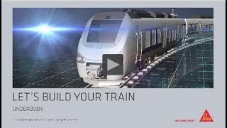 Sika Underbody Coating and Acoustic Solutions for Rail Vehicles