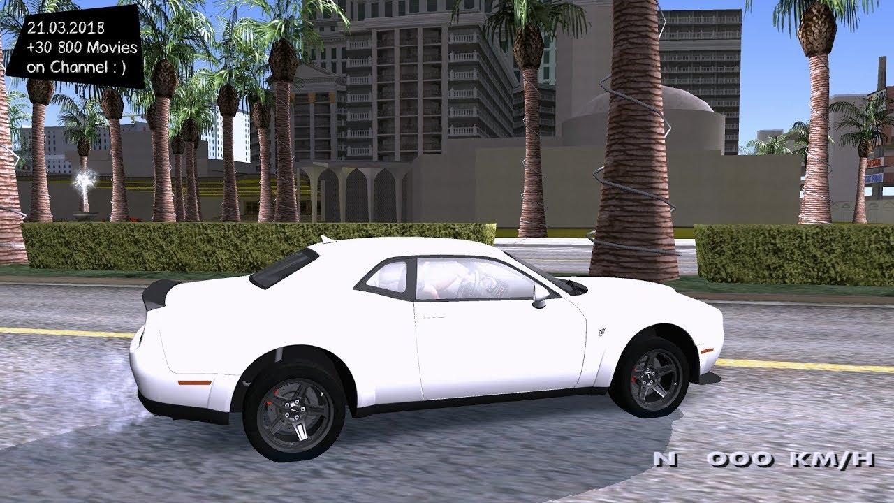 Dodge Demon Grand Theft Auto San Andreas GtaInside