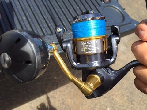48952e18dbe 2015 SHIMANO TWIN POWER SW5000BXG $519.99 UNBOXING & REVIEW! - YouTube