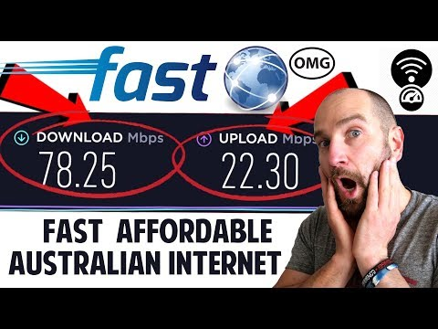 Australia's Fastest Internet Speeds In 2019!? Finally! Perfect For YouTubers