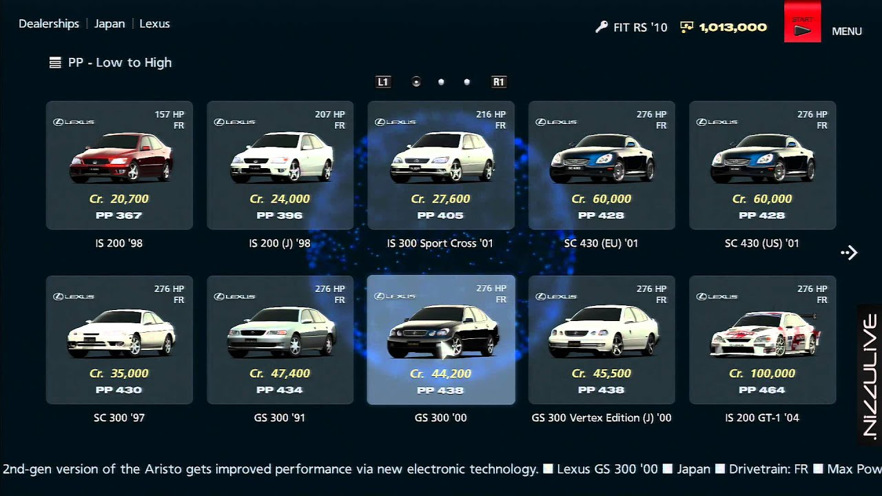 Gran Turismo 6 Car List Honda Www Pixshark Com Images