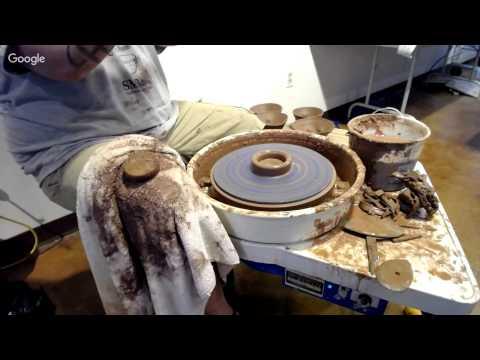 Drury pottery workshop Day 1