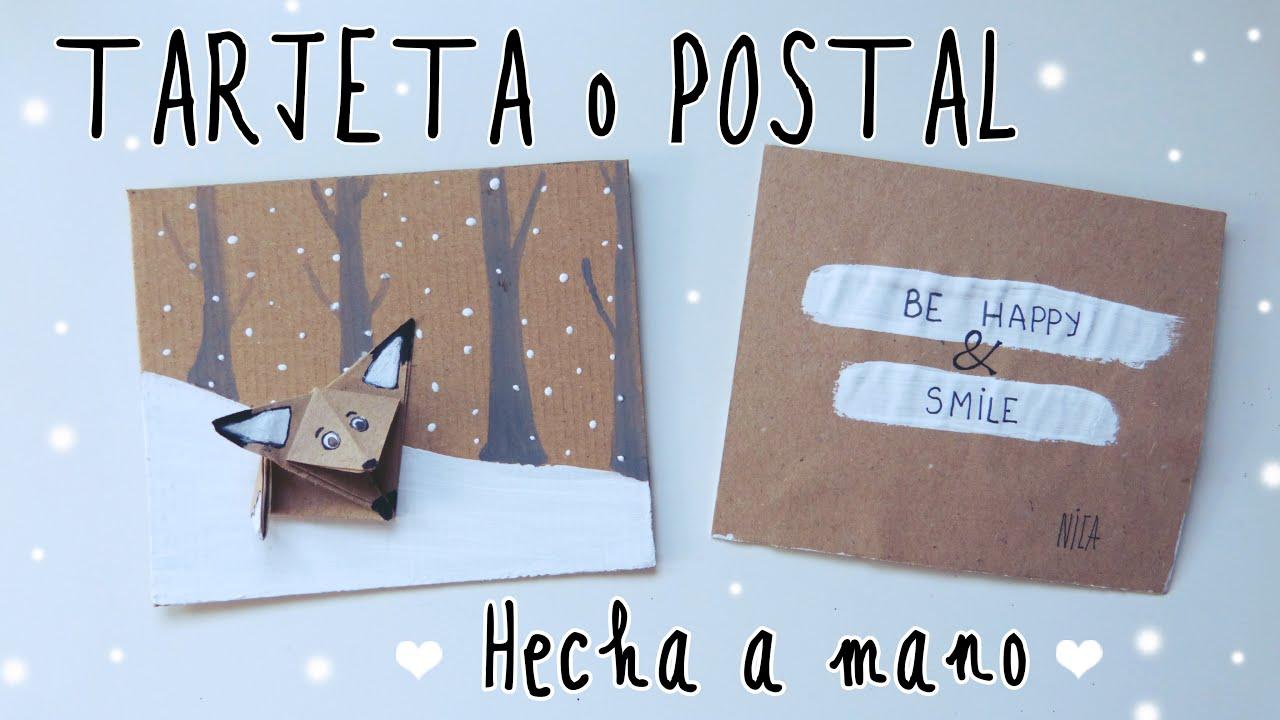 Tarjeta hecha a mano regalo original para novio o padre - Hacer regalos originales a mano ...