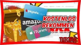 So bekommst du einfach kostenlos Amazon, Paysafecard und mehr online!