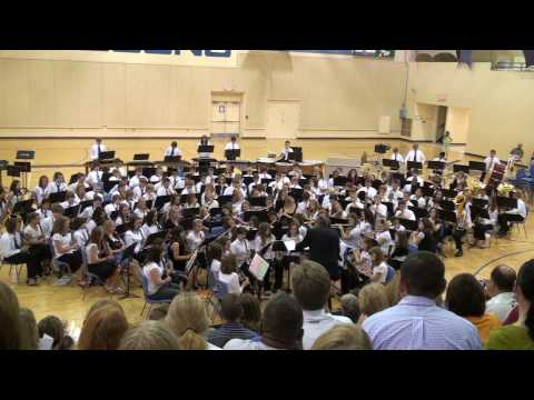 Baby Elephant Walk by the Washburn Middle School 7th grade band