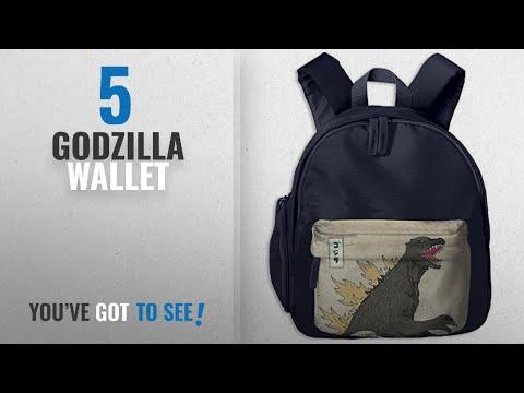 Top 10 Godzilla Wallet [2018]: Great Wave Off Kanagawa Godzilla School Bag For Boys And Girls Kids