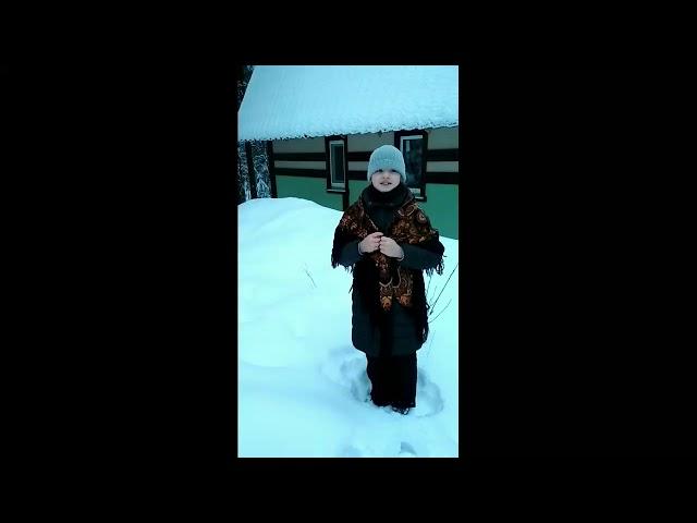 Изображение предпросмотра прочтения – ЕкатеринаПеганова читает произведение «Ветхая избушка» А.А.Блока