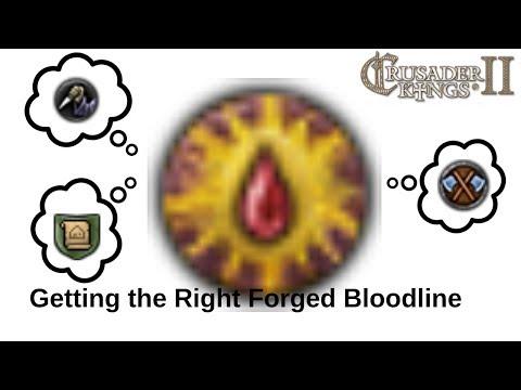 CK2 Holy Fury | Forge Bloodline ambition bloodlines