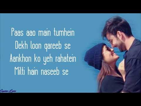 Oh Humsafar - Neha Kakkar & Tony Kakkar(Lyrical Video)