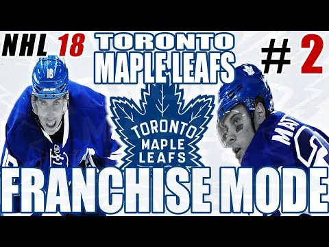 INSANE TRADE! - NHL 18 FRANCHISE MODE - Toronto ep 2.