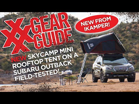 NEW iKamper Skycamp Mini! Install on Subaru Outback with Prinsu Roof Rack