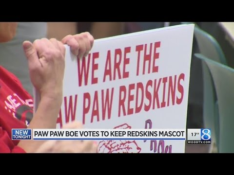 Michigan ACLU Says Paw Paw Redskin Merchandise is Racist 7ad72aefb