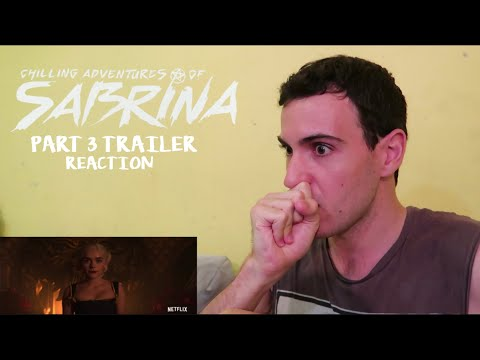 CHILLING ADVENTURES OF SABRINA PART 3 TRAILER REACTION