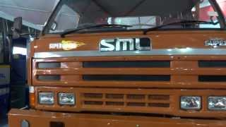 SML Isuzu Super 12.9 XM BS-III at 12th Auto Expo 2014 The Motor Show Greater Noida