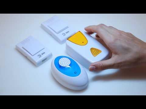 Видео Звонок беспроводной на батарейках инструкция