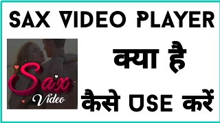 SAX Video Player How To Use | SAX Video Player | All Format Supported 2021 | Video Player screenshot 4