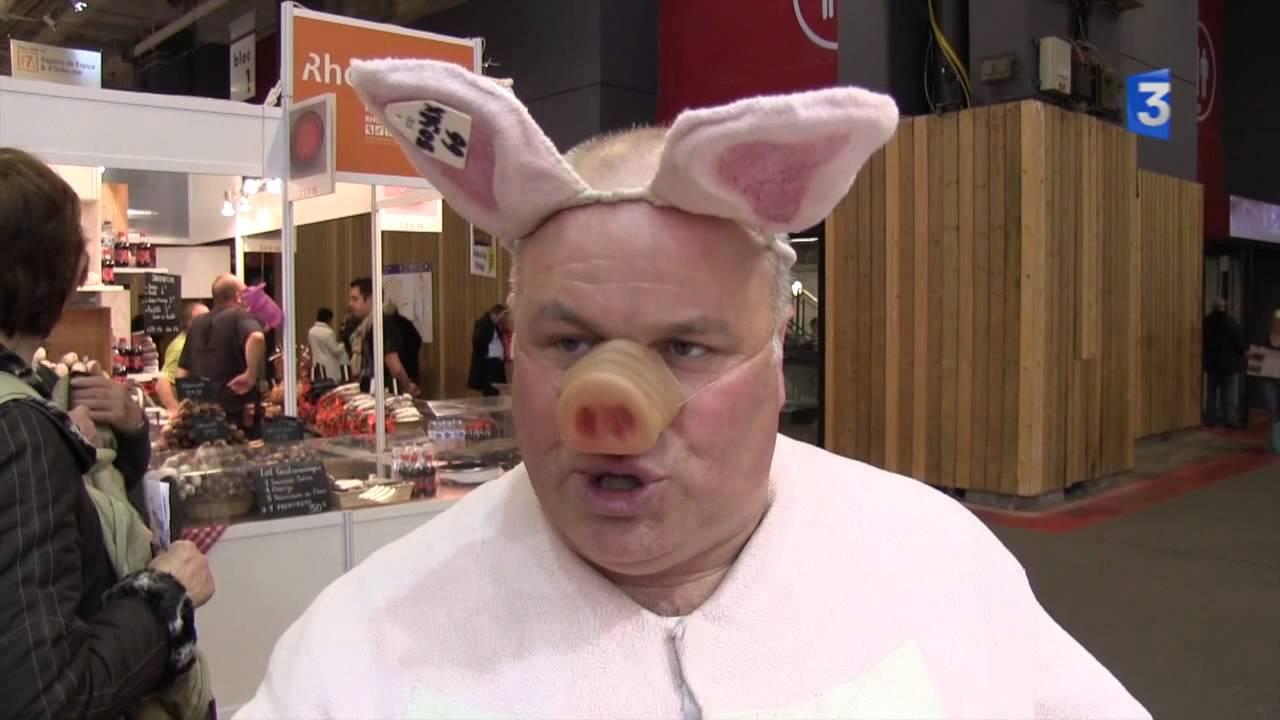 Sia 2013 no l jamet champion du monde du cri du cochon - Queue de cochon outil ...