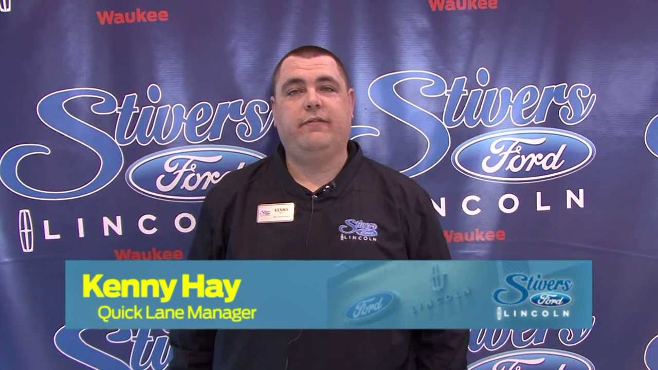 Meet Kenny Hay Stivers Ford Lincoln Waukee Youtube