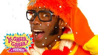 Yo Gabba Gabba! Family Fun - YO GABBA GABBA Wiggle Song | Kids Songs | DJ LANCE ROCK | BABY SONGS