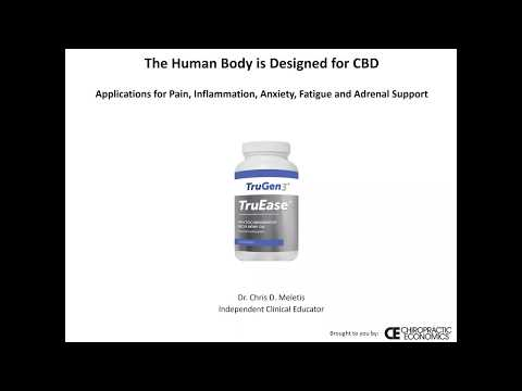 CBD to support pain and inflammation, adrenal fatigue, and anxiety: recording and transcript