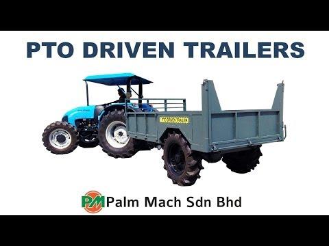 Palm Mach PTO Driven Trailer